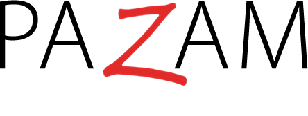 Pazam hair salon logo
